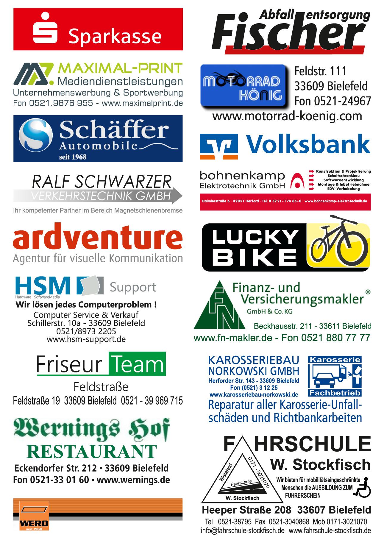 Die Sponsoren | RADRENNBAHN BIELEFELD