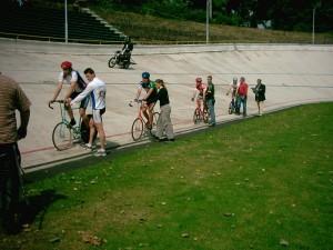 DeutschlandCup 2002 Aufstellung zum Start