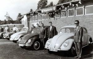 Wehmeyer & Castrup Präsentation des VW Käfers, Archiv A. Struwe